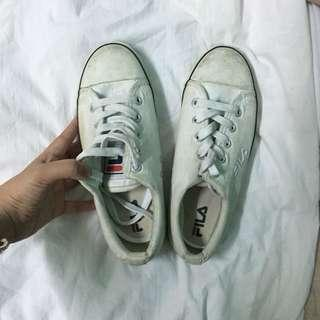 Fila white shoes