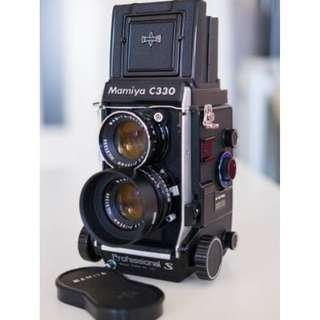 Mamiya C330 S Medium Format TLR & 105mm f3.5 DS