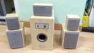 Shinco SL-700無源5.1家庭影音