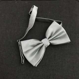 Silver bowtie