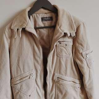 Corduroy Beige Jacket