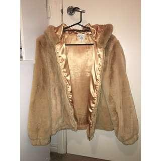 Urban outfitters Faux fur Teddy Jacket