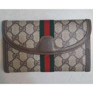 Vintage Gucci Leather Wallet