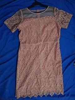 Semi-formal dress in Pink