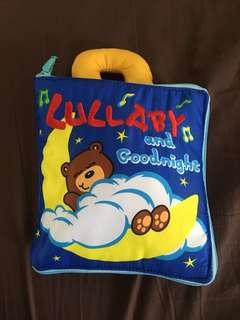 Baby toy cloth book (goodnight)