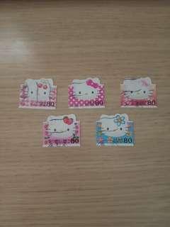 Hello Kitty已蓋銷日本郵票