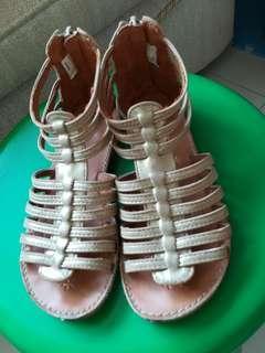 二手女童羅馬鞋(13號,約19公分)