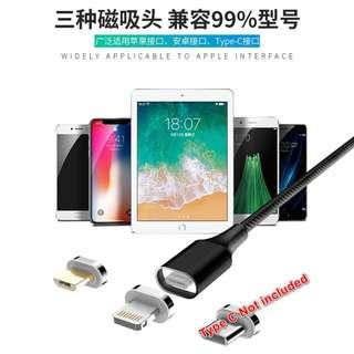 🚚 10th Generation Magnetic cable with ios and Android heads