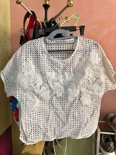 ZARA Tops can fit small to medium frame like new condition
