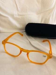 Reading glasses orange +1.50