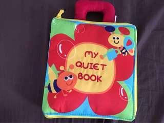 Baby toy cloth book (my quiet book)