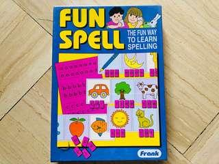 Fun Spell Word Game