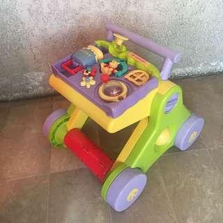 Tomy Disney Baby Walker and Gym