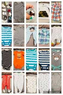 Baby clothes and socks (take all)
