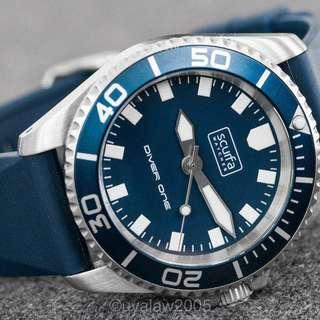 Scurfa Diver One Blue ND513 Dive watch