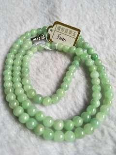 Jade Bracelet豆种翡翠项链