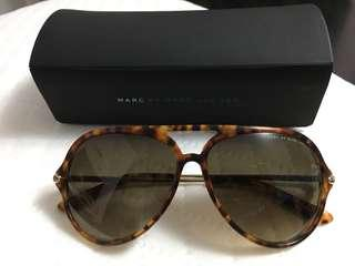 Marc Jacobs Tortoise Aviator Sunglasses