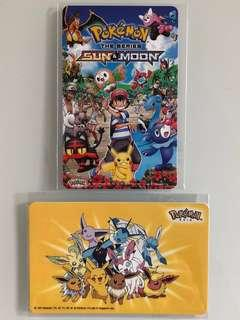 Limited edition brand new Pokémon Asia Ezlink cards for sale .