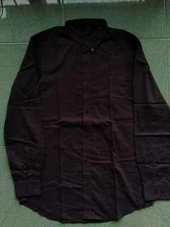 The Executive Shirt Black Grey