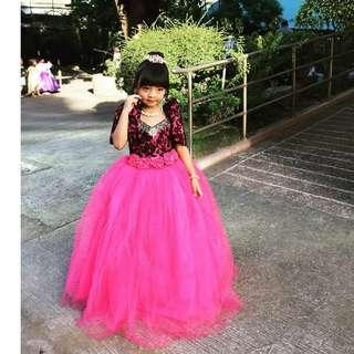 Gown for kids/ UN Costume