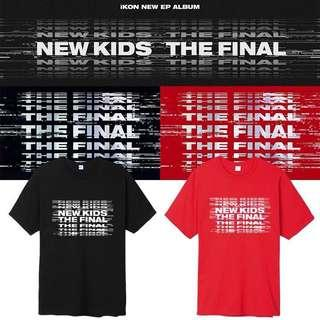 [PO] iKON NEW KIDS THE FINAL SHIRT