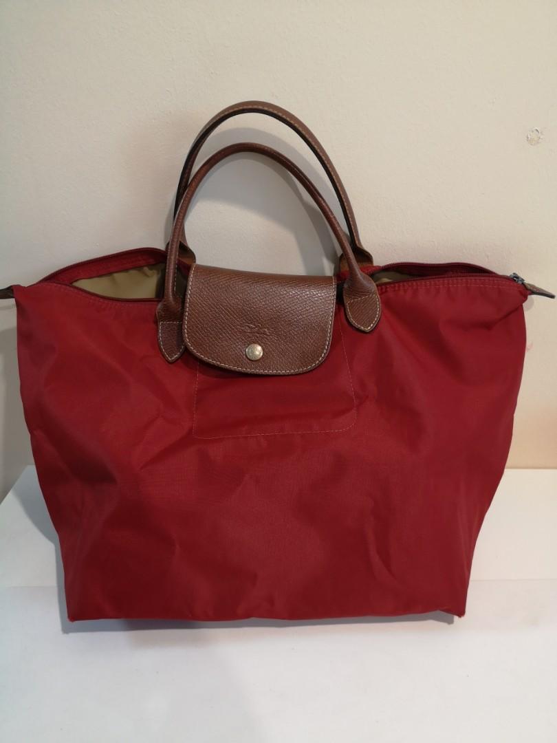 100% Authentic Longchamp Bag LE PLIAGE top handle 35ba2ce17d636