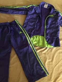 Pair of jacket and pants authentic Adidas