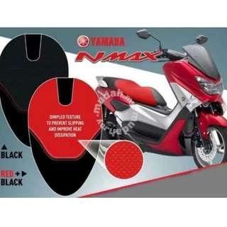 Nmax red color yamaha genuine leather seat cover