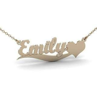Engrave necklace
