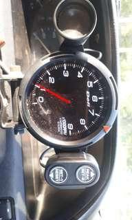Original.tachometer defi racer 9k rpm