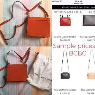 BCBG Sling Bag