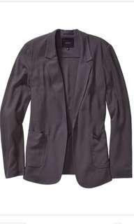 Aritzia Talula Kent Blazer Dark Grey Size 2