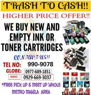 Buyer of Expired and Empty Ink Cartridges and Toners