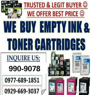 We Biy Empty Ink Cartridges and Toners