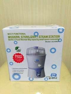 Alat sterilizer botol dan penghangat asi