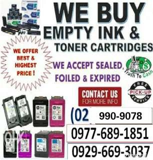 Legit and No 1 Trusted Buyer of Empty Ink Cartridges and Toners