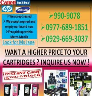 Buyer of Empty Ink Cartridges and Toners