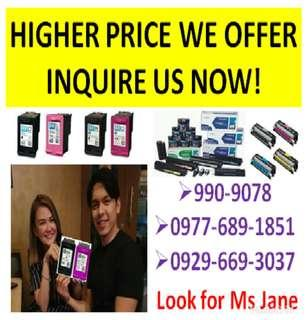 Trusted Buyer of Empty Ink Cartridges and Toners