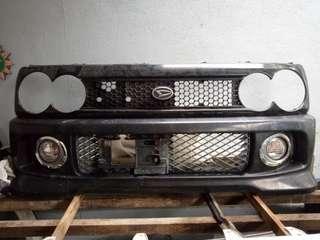 Daihatsu move L9 kenari bumper depan peanut,  Gril peanut & bumper belakang casual