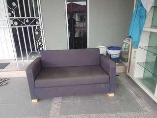 Sofa bed siap hantar