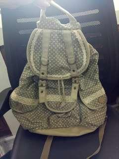 SALE 70RB!  TAS SERUT/ BACKPACK MADE IN HK