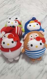 🔲New Bundle Hello Kitty Plush Soft Toys