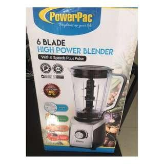 PowerPac 6 Blade High Power Blender