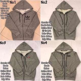 Sweater Zip hoodie