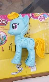 Cetakan playdoh little pony