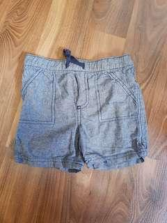 Chambray Shorts for Babies