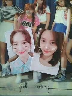 YoonA So Wonderful Day in SG Photocard Set