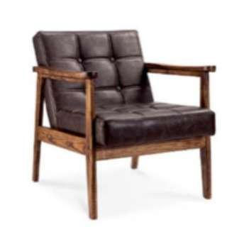 Luxury Wooden Large Chair