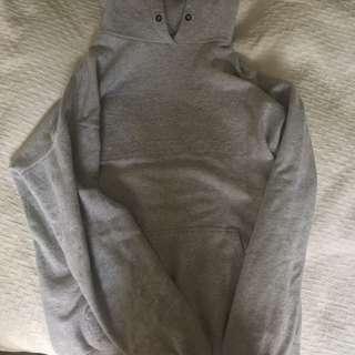 Grey stussy hoodie