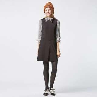🚚 Uniqlo Pleat Front Dress